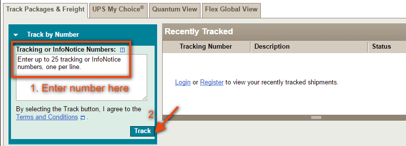 track usps package