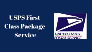 USPS First Class Package Service