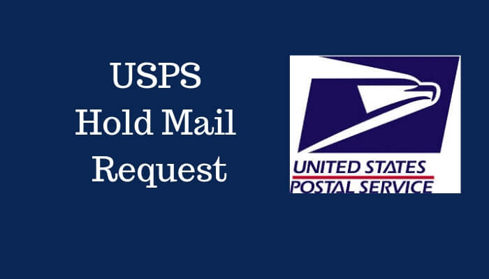 USPS Hold Mail Request